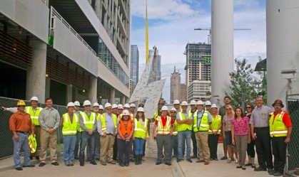 topping out group pic